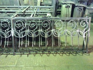 wrought fence for balconies