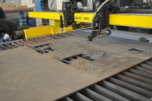 plasma cutting plate